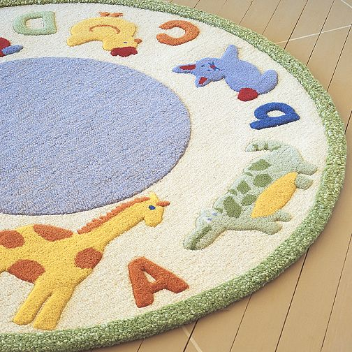 Kids Educational Abc Rug